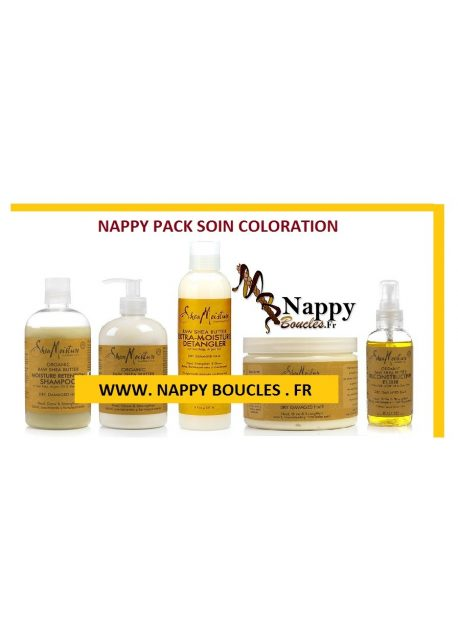 PACK SOIN COLORATION SHEA MOISTURE