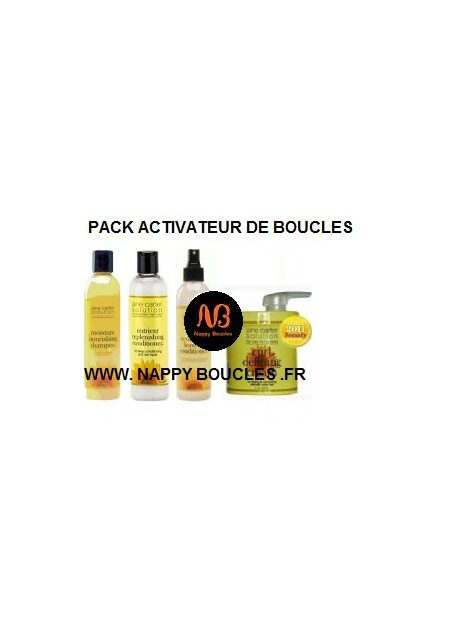 PACK ACTIVATEUR DE BOUCLES JANE CARTER SOLUTION