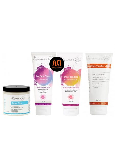 Kit Hair Routine