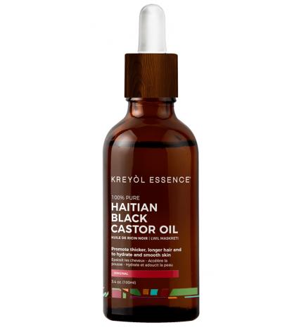 huile de ricin d' Haiti 100% naturelle / Haitian Black Castor Oil - kreyol essence
