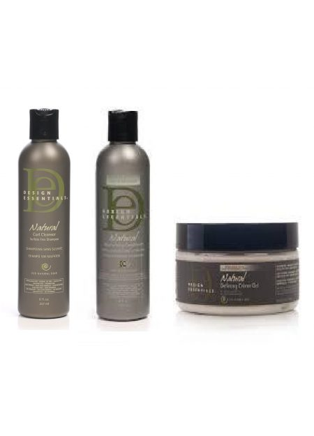 PACK TRIO Soin Hydratant Design Essentials natural