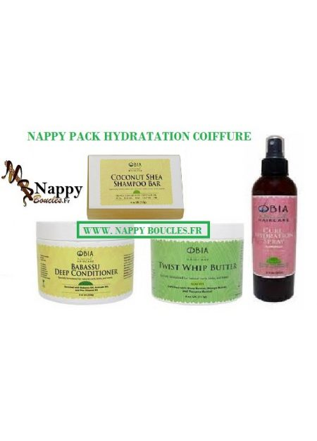 PACK HYDRATATION COIFFURE