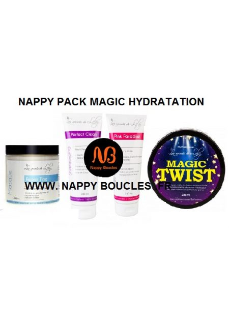 PACK MAGIC HYDRATATION LES SECRETS DE LOLY