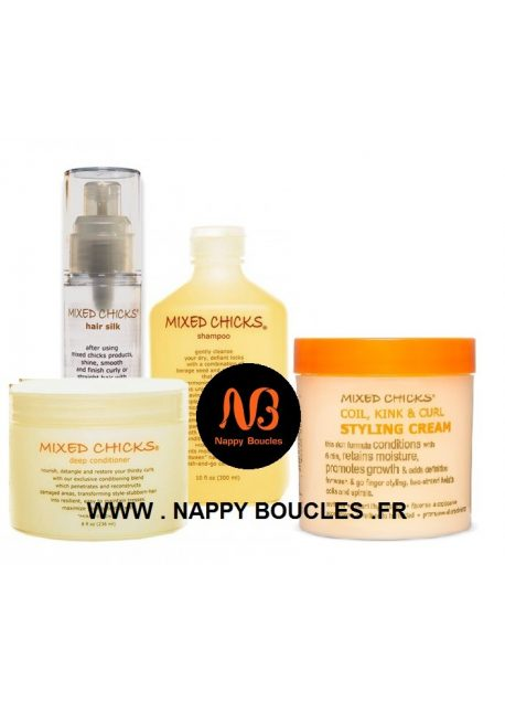 Pack soin complet Mixed Chicks
