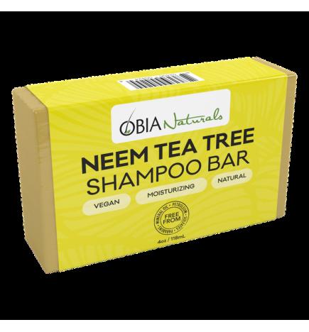 shampoing bar savon neem & Tea tree obia natural